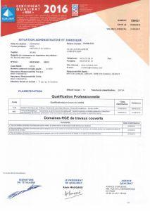 Télécharger le certificat RGE