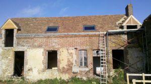 Rénovation Charpente Couverture Zinguerie Isolation Vélux Epuisay Vendôme Loir et Cher