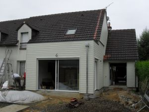Extension Ossature Bois Loir et Cher Vendôme Mondoubleau