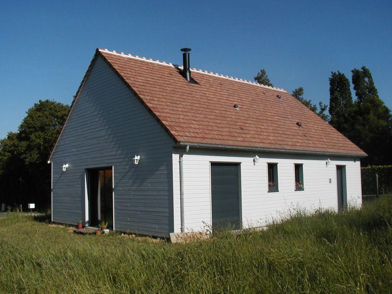 Vivre eco constructeur maison bois cologique les - Maison menuiserie gris anthracite ...