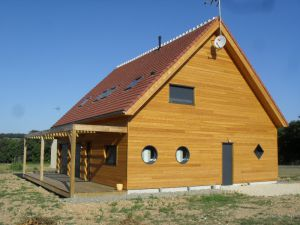 Construction Maison Ossature Bois Sargé sur Braye Sarthe Le Mans Bouloire Loir et Cher Vendôme