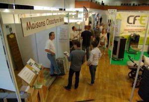 Salon habitat vendome 2015 minotaure exposant isolation ossature bois