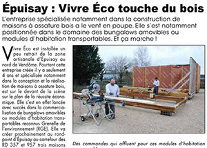 Vivre Eco touche du bois